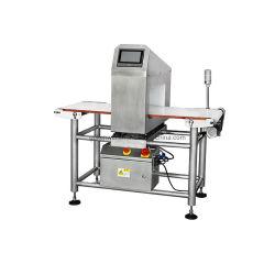 Detector de Metales de acero inoxidable con cinta transportadora en la industria alimentaria