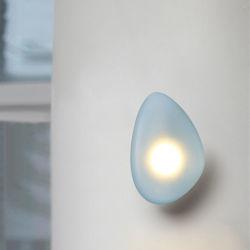 """مصابيح LED حائط من نوع Nordic مصابيح زجاجية حديثة من نوع """"ضوء حائط من الحصى"""" (WH-or-216)"""