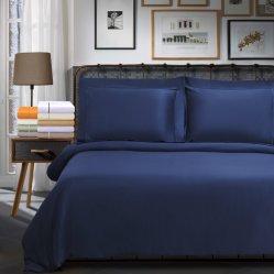 100% algodão penteado fino com roupa de cama Emb define 200CT-800TC