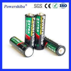 1.5V 폐기 건식 셀 배터리 고출력/수은 없음/비충전식/중부하/R6 완구/플래시라이트/시계/카메라용 AA/탄소 징크 배터리