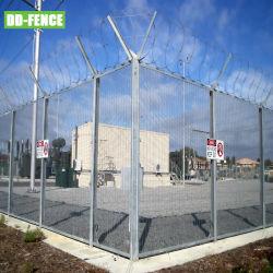 ISO 9001 인증 고급 보안 등반가 358 Fence for 산업 상업 주거 공항 경계 기차역