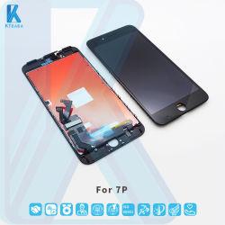 텔페모노 셀레스 LCD 텔포노 모빌 LCD 모빌 팬탈아 드 크리스털 iPhone 7p 7p를 위한 Liquido LCD
