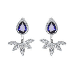 Независимым дизайн высокого класса моды серебристые украшения