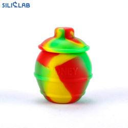 Non- Nahrungsmittelgrad-Silikon-Wachs-Glas-Konzentrat-Behälter des Stock-28ml