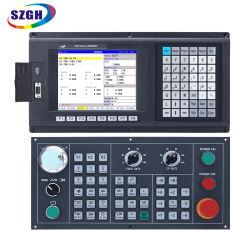 Szgh-Lathe of draaien met 2-assige CNC Controller, USB Criminal Control voor AC Servo System, Total Kit vergelijkbaar met GSK