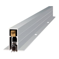 La guarnizione insonorizzata concisa della cambiale del portello acustica cade giù di alluminio anodizzato montato/libero superficie/della guarnizione/applic guarnizione di tenutaare/soglie