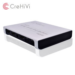 4K@60Гц ПСП&PMP двойного экрана дисплея и сшитых Переключатель HDMI для захвата видео записи с камер
