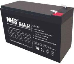 Batteria al piombo-acido sigillata senza manutenzione 12V7ah VRLA per UPS