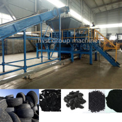 máquina de reciclaje de residuos de equipos Neumáticos Los neumáticos de la máquina trituradora trituradora de llantas de goma de la línea de producción Rectificadora de miga