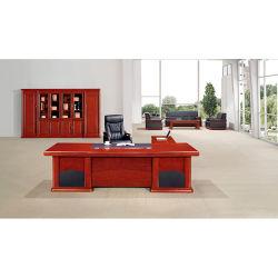 Muebles de Foshan L Mesa Melamina de forma única tabla de administrador de escritorio ejecutivo