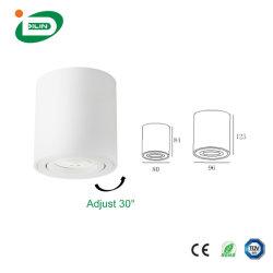 إضاءة لمدة 5000 ساعة مع لمبة LED باللون الأبيض الدافئ مع شاشة LED من نوع GU10 LED وسقف IP20