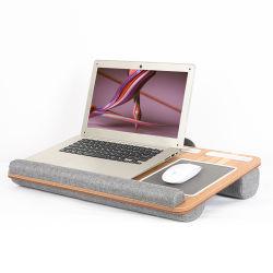 Для дома и офиса Lapgear столик с устройством уступа коврик для мыши и держатель телефона - серебристый ноутбук углерода таблица