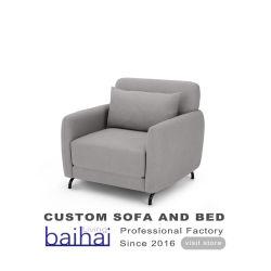 Tissu de conception moderne de meubles de la mode Canapé-lit chaise cum