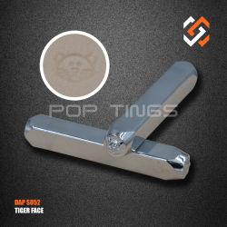 宝石類のツールの記号デザイン金属のスタンプS052のトラの表面デザイン金属の穿孔器