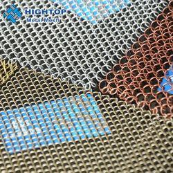 스테인리스 알루미늄 장식적인 금속 사슬 메시 커튼