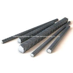 HRB500 barras de hierro que refuerzan barra de acero barra de acero deformada