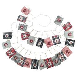 BSCI Factory Countdown Decoratie viltzakken Kerstadventskalender