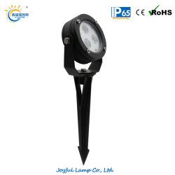 12V 24V LED exterior IP65 de la luz de pico de árbol de jardín de luz LED RGB de faroles de luz LED de Césped de Luz LED de proyección en el Foco del paisaje con Spike