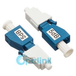 Connecteur LC Type de plug-in femelle à mâle de l'atténuateur de fibre optique fixe