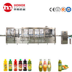 Bottiglia di Lavaggio riempimento tappatura Conciatore di cocco bevanda caffè riempimento linea macchina
