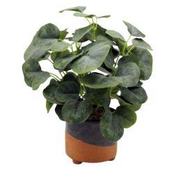 Comercio al por mayor jardín de flores artificiales de plástico decorativo planta Bonsai