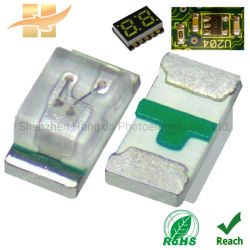 Venta directa de fábrica LED chip 0402 Verde para los módulos LED SMD LED