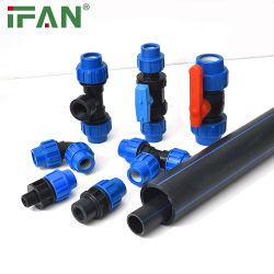 Трубы и фитинги IFAN PP/HDPE/PE заводская цена ирригационная трубка для Патрубок подачи воды PP патрубок сокета 602 Пресс-форма