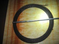 Schwarzer getemperter verdrehter verbindlicher Draht des Anzeigeinstrument-18 1.25mm