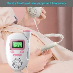 (AF-703-L) الاستخدام المنزلي الآمن للجيب بلر الأجنة فوق الصوتي للجنين جهاز مراقبة يومية جنينية Heartbeat مزود مباشر