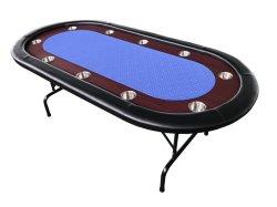 Tavolo da poker personalizzato Texas Holdem Casino Gambling Playing Cards Texas Tavolo da poker (DRA-GB3051)