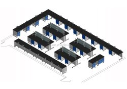 Mobilia del laboratorio per i laboratori di Physic&Chemical in 6 banchi della Nigeria