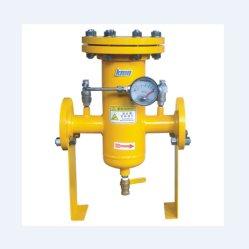 Bride de la crépine Cartirdge se termine avec la crépine du filtre de Pipeline manomètre différentiel pour le gaz/gaz liquéfié