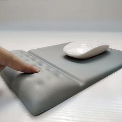 Preço barato conjunto espuma com memória Mouse pad de repouso de Pulso
