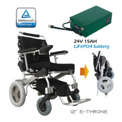 1 - второй складной Powerchair с маркировкой CE легко поместить в машине соединительной линии
