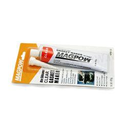L'élasticité Hi-Temperature gris et noir 100 % joint RTV Silicone Maker 85g