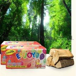 Удобная мягкая бумажные полотенца высокого качества 2 Ply мягкая упаковка бумажные салфетки для лица
