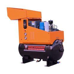 ضاغط برغي PM المبرَّد بالزيت VSD 7,5 كيلووات 10hp 40cfm صناعي ضاغط الهواء من النوع اللولبي للبيع