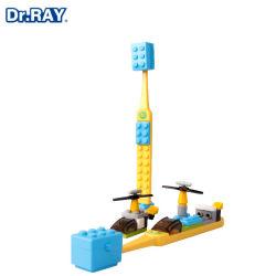 Children′ S Building Block Zahnbürste Weichpelz über 6 Jahre Alte Weiche Pelz Kleiner Kopf Spielzeug Custom Großhandel Kind Zahnbürste