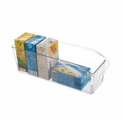 Organizador de la bandejas refrigerador congelador Caja de almacenamiento frigorífico recipientes de cocina