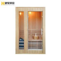 Традиционные для использования внутри помещений деревянные сухой пар спа для здоровья