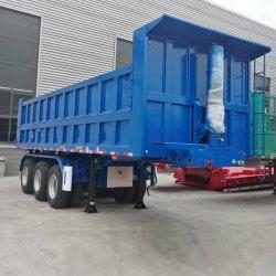 Venda a quente China preço de fábrica 3 eixos 30 toneladas 40 toneladas Reboque de descarga basculante do lado do carvão