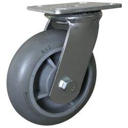 Großverkauf 8 Zoll - hohe Schwenker-Fußrolle des Eingabe-Lebensmitteldienst-Geräten-TPR