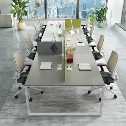 상업적인 가구 모듈 사무실 책상 8 사람 사무실 워크 스테이션