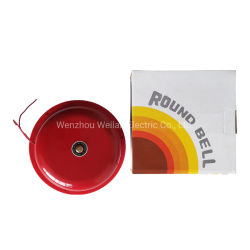 6 インチ 150 mm AC 220 V プラスチックベース火災警報ベル