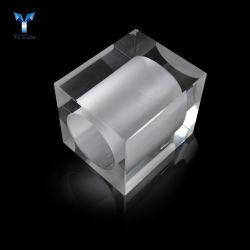 Accessori Pendant di cristallo personalizzati dei lampadari a bracci del cubo di cristallo trasparente
