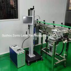 레이저 사용 향수 유리 병 MFG 만료 날짜 코딩 인쇄 마킹 기계 코더