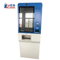 Bureau de change d'écran tactile de la machine avec le projet de loi de l'accepteur et distributeur