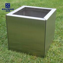 金属のホーム装飾の正方形デザイン庭の植木鉢