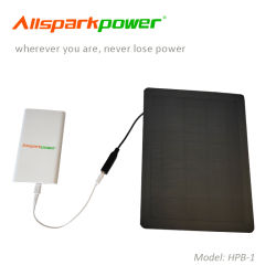 Caricatore conveniente e compatto del Mobile del telefono della pila solare 5000mAh