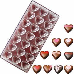 2020 забавных Custom квадратных Поликарбонатный пластик конфеты шоколад Gold бар пресс-форм